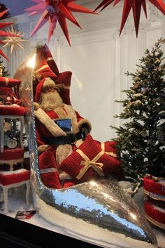 Christmas windows 2012