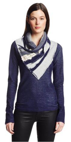 Desigual Womens Aina Pullover Sweater