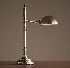 restoration hardware rowan table lamp brass master bedside table