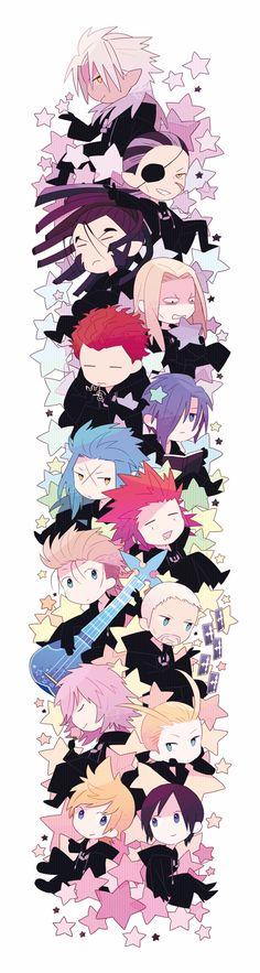 Chibi Organization XIII, Kingdom Hearts 358/2 Days