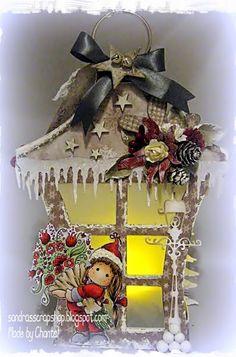 Sandra's Scrap Shop: # 25 Lantern pattern / template Lantern