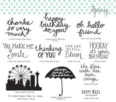 More new stamps from SAVVY STAMPS!