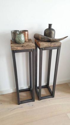 Zuil staal industrieel – seda sonmez – … - home/interieur Steel Furniture, Industrial Furniture, Diy Furniture, Furniture Stores, Inexpensive Furniture, Furniture Websites, Rustic Industrial, Wood Steel, Wood And Metal