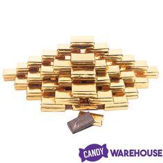 Gold Andes Mints: 5LB Bag | CandyWarehouse.com Gold Candy, Mint Candy, Chocolate Flavors, Mint Chocolate, After Dinner Mints, Wholesale Candy, Types Of Candy, Mint Gold, Andes Mints