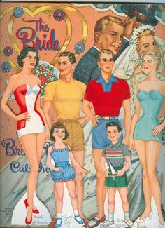 Paper Dolls~The Bride - Bonnie Jones - Picasa Webalbum