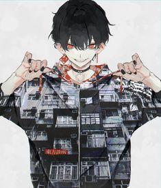 写真の説明はありません。 Manga Boy, Manga Anime, Anime Art, Handsome Anime Guys, Cute Anime Guys, Anime Boys, Anime Demon Boy, Character Art, Character Design