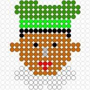 Deze kralenplank en vele andere in het thema sinterklaas kun je vinden op de website van Juf Milou.