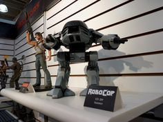 Fully automated, the Enforcement Droid Series 209 (ED-209 for short) from RoboCop was to be the next wave in robotic policing. Well, we all know how that turned out.