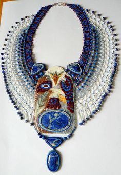 Beautiful jewelry by Natalia Bessonova (2 part) Click on link to see more photos - http://beadsmagic.com/?p=5699