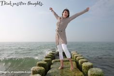 Think positive thoughts.  #easygoals | http://easygoals.com/