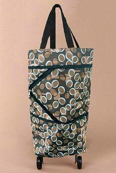 Travel Bags Tomato Funny Portable Storage Trolley Handle Luggage Bag