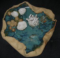 Sue McCoy: Tide Pool, 12 inches diameter