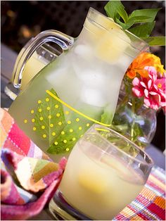 "Beat the Heat with 10 Refreshingly Different Iced Tea Recipes like this ""Pineapple Sage Iced Tea""! AH! http://www.ivillage.com/best-flavored-iced-tea-recipes/3-a-542995"