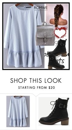 """romwe-IX/5"" by ermansom ❤ liked on Polyvore featuring romwe"