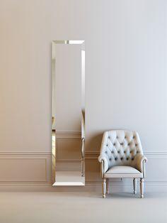 CINIER mirror radiator. Electric or hydronic version. Made in France.  Radiateur miroir Cinier. Disponible en version electrique, eau chaude et sur mesure. Fabriqué en France.
