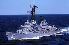 The ship my husband was stationed on years ago.....USS Cochrane DDG 21