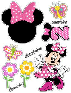 Bolo Minnie, Pink Minnie, Minnie Mouse Party, Mouse Parties, Mickey Mouse, Minnie Rosa Png, Mini Boutique, Mouse Crafts, Ideas Para Fiestas