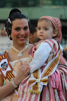 Valencian traditional costume, Spain