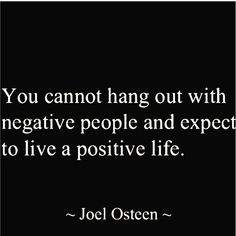 #qotd #mood #inspiration #inspirational #inspirationalquotes #motivation #motivational #motivationalquotes #notetoself #truth #nonegativity #positivity #bepositive #joelosteen #joelosteenquotes #tuesday    #Regram via @danvyvo) Joel Osteen, Negative People, Note To Self, Positive Life, Live Life, Scriptures, Motivationalquotes, Quote Of The Day, No Worries
