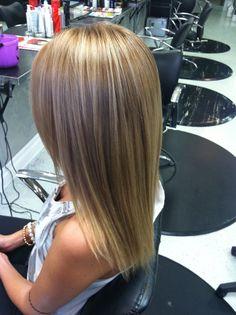 Dark blonde for fall
