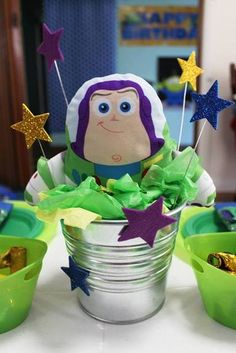 Buzz Lightyear / Toy Story Birthday Party Ideas | Photo 12 of 48 | Catch My Party