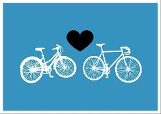 Bike love, pure and simple.