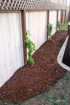 How to customize your garden mulch color with Ella Claire