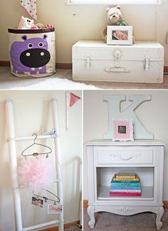 Baby Girl Delicate Nursery Decorating Ideas