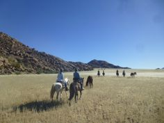 Riding in Namibia's Wolwedans Reserve