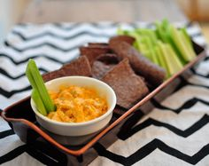 Celebrate the Super Bowl With Spicy Buffalo Chicken Dip