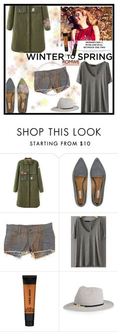 """""""Army For Spring"""" by iamrendrawati ❤ liked on Polyvore featuring Jigsaw, Siwy, Giorgio Armani, Eugenia Kim and Bling Jewelry"""