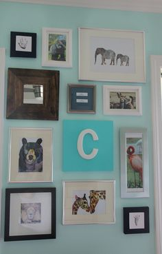 completed nursery by anythingpretty, via Flickr