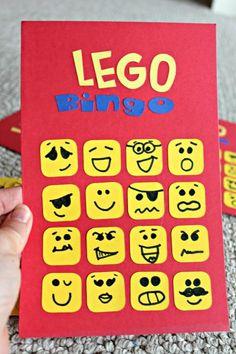 Einfache Lego-Geburtstagsfeier-