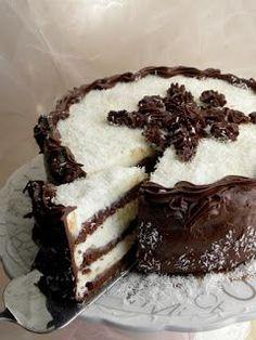 torta, pinjur, pjat...: Kokos-čokoladna fantazija!
