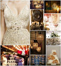 vintage glam wedding | Ashley Elizabeth Designs: Vintage Glam Wedding Ideas
