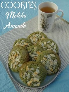 Quat, Matcha Cookies, Mini Desserts, Saveur, Sorbet, Beans, Baking, Vegetables, Kitchens