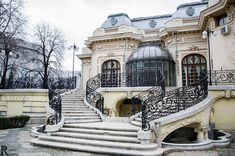 My Beautiful Bucharest added 33 new photos to the album: Case / Houses — with Roland Ciorobea and 2 others. Art Nouveau Architecture, Architecture Details, Wonderful Places, Beautiful Places, Monuments, Visit Romania, Little Paris, Bucharest Romania, Eastern Europe