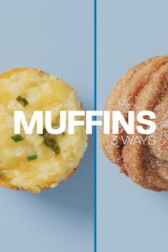 We've got 3 amazing muffin recipes that will give you a blueberry muffin break! Watch the full episode and more on HSTV. Homemade Breakfast, Blue Berry Muffins, Churros, Muffin Recipes, Baked Potato, Blueberry, Pineapple, Brunch, Snacks