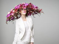Wear your wedding flowers loud and proud