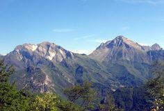 Alfredo Panzini, Viareggio-Pietrasanta-Alpi Apuane