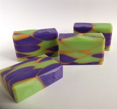 Inventive Calypso Sunset Vegan Palm Free Handcrafted Artisan Shea Butter Soap Bath & Body
