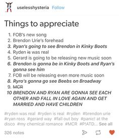GEORGE RYAN ROSS III WENT TO SEE BRENDON BOYD URIE WHEN HE WAS IN KINKY BOOTS AND IM DYING