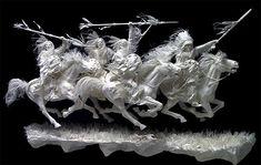 paper scdlptures art | Vivid Paper Sculpture by Allen and Patty Eckman | The Design ...