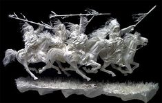 paper scdlptures art | Vivid Paper Sculpture by Allen and Patty Eckman | The Design ...