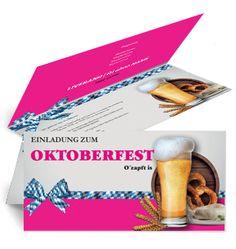 Karten mit Falz auf Seite jetzt für Veranstaltungen und Feste