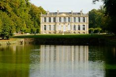 The Uber-elegant Chateau de Canon at Mezidon-Canon, Normandy, France.
