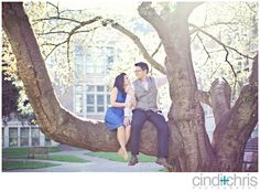 Seattle Engagement Photography | Linh+Celso | University of Washington and Gasworks Park