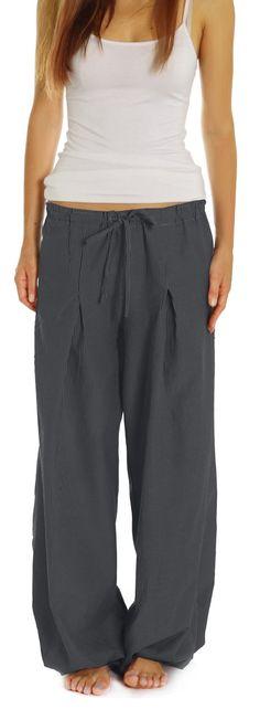 Bestyledberlin Damen Hosen, Damenhosen im Pluder Look, Haremshosen / Aladinhosen j185p: Amazon.de: Bekleidung