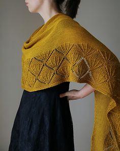 Caress My Soul shawl on Ravelry