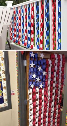 The Independence Day or more popular of July is yet to come, but that doesn't mean that it is too early to gather decorations or ideas for decorating your home in a patriotic fashion. of July is distinctive festival for the summertime and is the mo Fourth Of July Decor, 4th Of July Celebration, 4th Of July Decorations, 4th Of July Party, July 4th, Camping Decorations, 4th Of July Ideas, Crepe Paper Decorations, Memorial Day Decorations